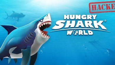 لعبة القرش الجائع هجوم القرش على الشاطئ الازرق
