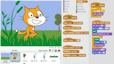 تحميل برنامج سكراتش 2 Scratch بالعربي للكمبيوتر من ميديا فاير 2021 برابط مباشر