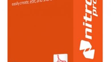 برنامج نيترو بي دي اف يدعم اللغة العربية